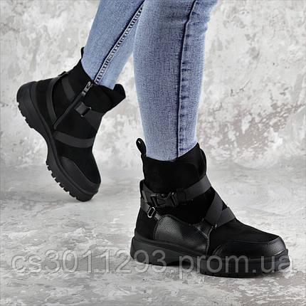 Ботинки женские зимние Fashion Lana 2317 36 размер 23,5 см Черный, фото 2