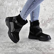 Ботинки женские зимние Fashion Lana 2317 36 размер 23,5 см Черный, фото 3