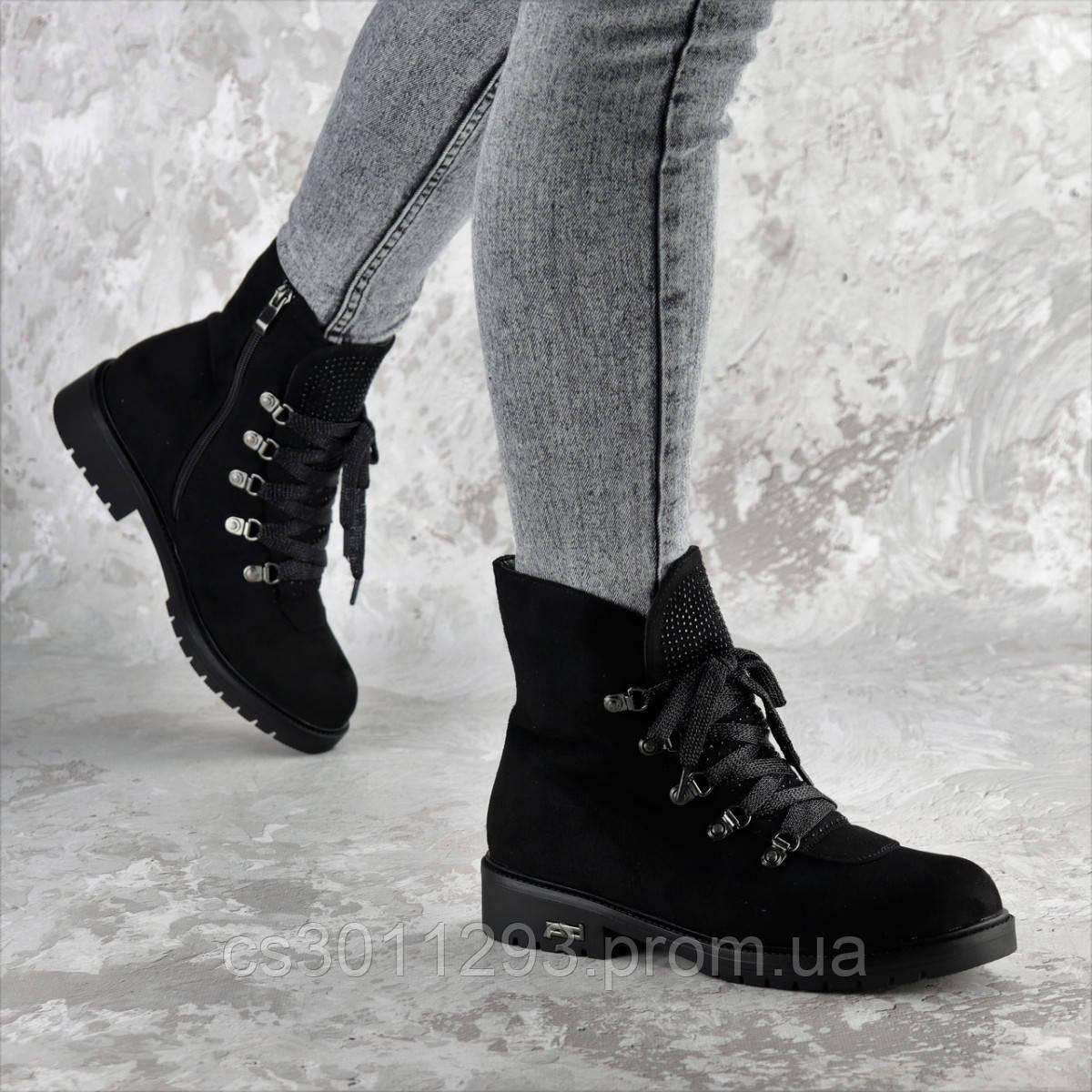 Ботинки женские зимние Fashion Oberon 2379 36 размер 23,5 см Черный