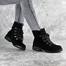 Ботинки женские зимние Fashion Oberon 2379 36 размер 23,5 см Черный, фото 3