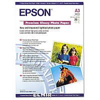 Фотобумага Epson Premium Glossy Photo Paper A3 20 л