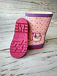Резиновые сапоги для девочек BBT, фото 4