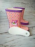 Резиновые сапоги для девочек BBT, фото 5