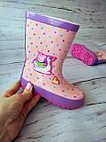 Резиновые сапоги для девочек BBT, фото 9