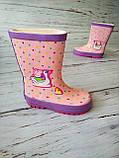 Резиновые сапоги для девочек BBT, фото 10