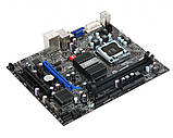 Плата s775 MSI G41M-P25 на DDR3 ! G41 CHIP розуміє ВСІ 2-4 ЯДРА ПРОЦЫ INTEL Core2QUAD, Core2DUO, XEON 775, фото 2