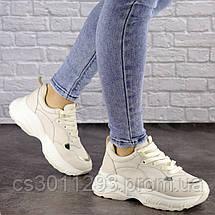 Женские бежевые кроссовки Nano 1468 (38 размер), фото 3