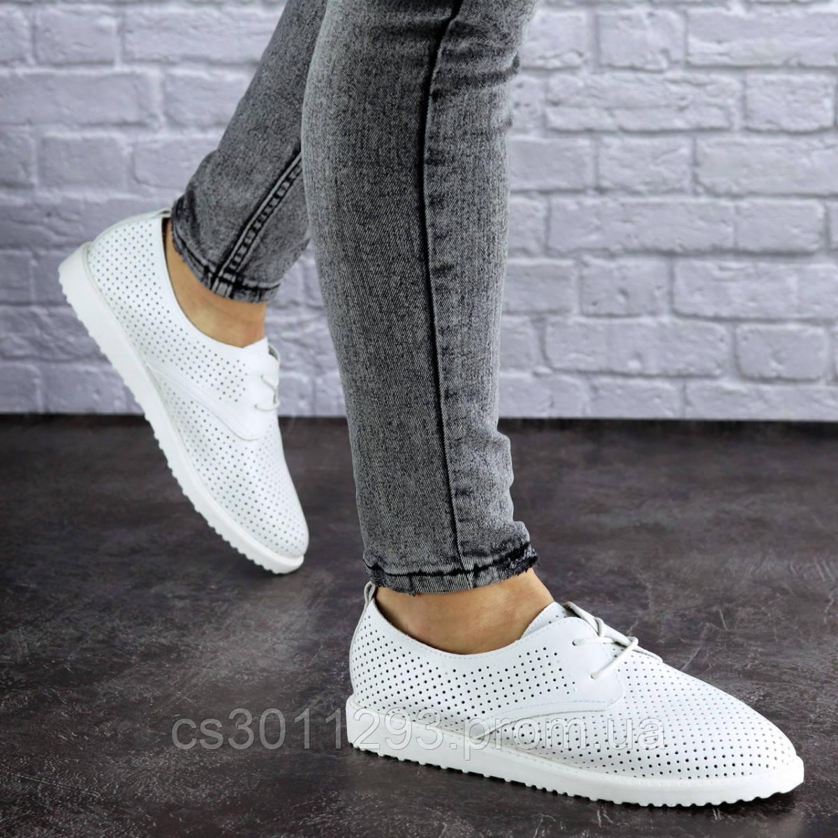 Женские белые туфли Twinkle 1784 (38 размер)