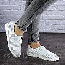 Женские белые туфли Twinkle 1784 (38 размер), фото 3