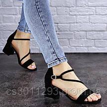 Женские босоножки Fashion Annie 1803 36 размер 23,5 см Черный, фото 2