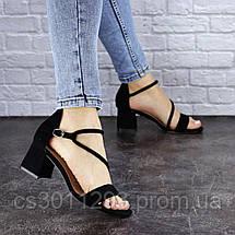 Женские босоножки Fashion Annie 1803 36 размер 23,5 см Черный, фото 3