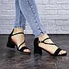 Женские босоножки Fashion Annie 1803 36 размер 23,5 см Черный, фото 4