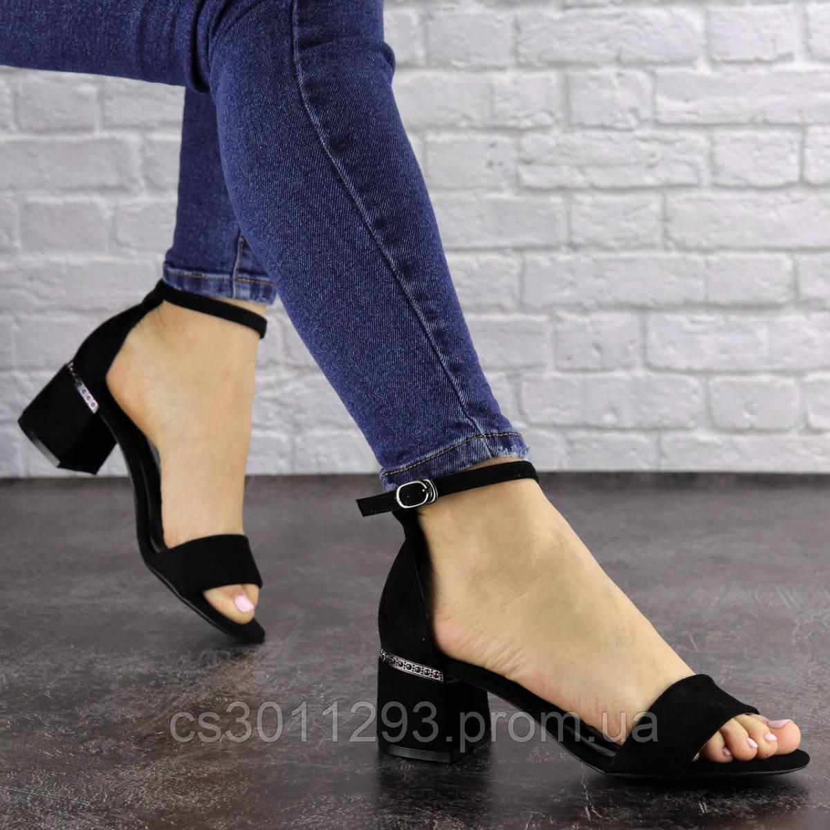 Женские босоножки Fashion Buddy 1564 36 размер 23,5 см Черный