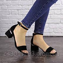 Женские босоножки Fashion Buddy 1564 36 размер 23,5 см Черный, фото 2