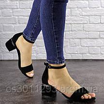 Женские босоножки Fashion Buddy 1564 36 размер 23,5 см Черный, фото 3