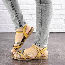 Женские босоножки Fashion Linda 1048 38 размер 24,5 см Коричневый, фото 2