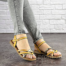 Женские босоножки Fashion Linda 1048 38 размер 24,5 см Коричневый, фото 3