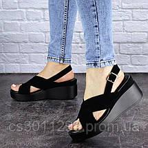 Женские босоножки Fashion Rocky 1825 37 размер 24 см Черный, фото 3