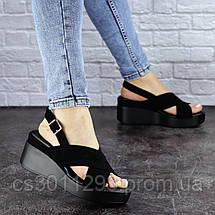 Женские босоножки Fashion Rocky 1825 37 размер 24 см Черный, фото 2