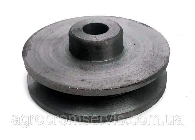 Шкив 1 ручейный диаметр 80 мм. профиль ремня  А,В