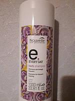 Шампунь для ежедневного мытья волос на травах (без дозатора) Nouvelle Herb Shampoo 1000 мл