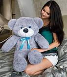М'який плюшевий ведмедик 2 метри. Великий плюшевий ведмедик. М'який ведмідь, фото 9