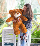 М'який плюшевий ведмедик 2 метри. Великий плюшевий ведмедик. М'який ведмідь, фото 10