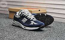 Мужские кроссовки New Balance 991 Blue