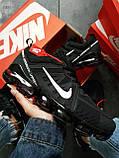 Мужские кроссовки Vapormax 19 Kauchuk Black/White, фото 5