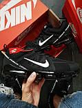 Мужские кроссовки Vapormax 19 Kauchuk Black/White, фото 6