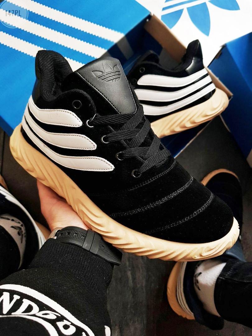 Мужские зимние кроссовки Adidas Sobakov Winter Black