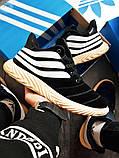 Мужские зимние кроссовки Adidas Sobakov Winter Black, фото 3