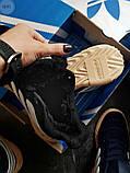 Мужские зимние кроссовки Adidas Sobakov Winter Black, фото 4