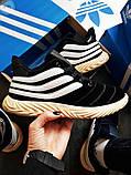 Мужские зимние кроссовки Adidas Sobakov Winter Black, фото 6