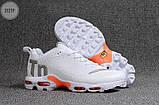 Мужские кроссовки Nike TN Air White Kauchuk, фото 4