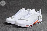 Мужские кроссовки Nike TN Air White Kauchuk, фото 5