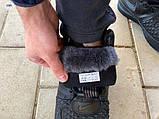ЗИМА!!! Мужские кроссовки Nike Lunar Force 1 Duckboot Black Winter, фото 3