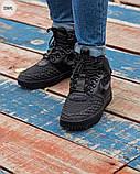 ЗИМА!!! Мужские кроссовки Nike Lunar Force 1 Duckboot Black Winter, фото 4