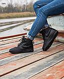 ЗИМА!!! Мужские кроссовки Nike Lunar Force 1 Duckboot Black Winter, фото 7