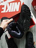 ЗИМА!!! Мужские кроссовки Huarache Off BLACK Winter, фото 2