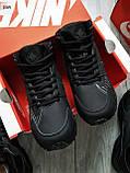 ЗИМА!!! Мужские кроссовки Huarache Off BLACK Winter, фото 3