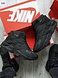 ЗИМА!!! Мужские кроссовки Huarache Off BLACK Winter, фото 7