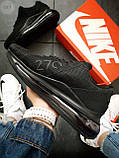 Мужские кроссовки Air 270 Kauchuk Black, фото 3