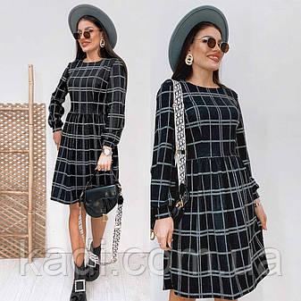 Платье в клетку / арт.391, фото 2