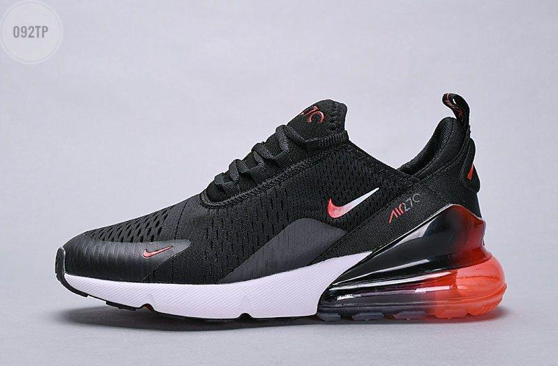 Мужские кроссовки Air Max 270 black|red ombre