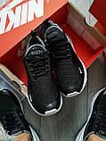 Мужские кроссовки Air Max 270 black white, фото 2