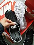 Мужские кроссовки Air Max 270 black white, фото 4