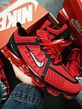 Мужские кроссовки Vapormax 19 Kauchuk Red/Black, фото 6