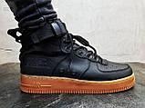 Мужские кроссовки Air Force Hight Black, фото 4
