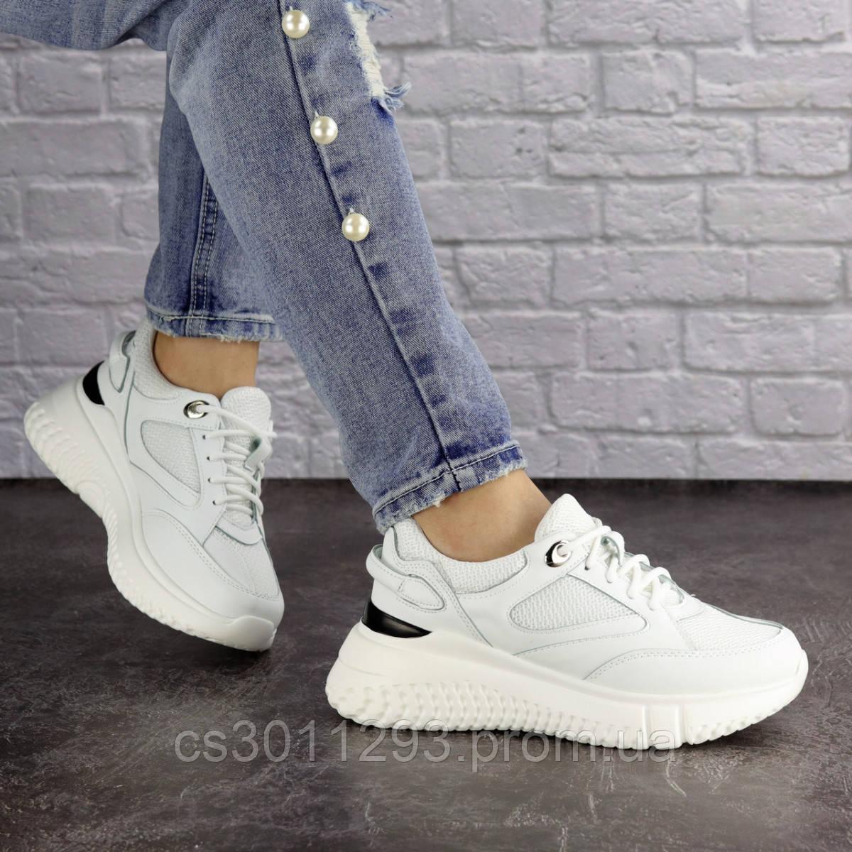 Женские кроссовки Fashion Jagger 1633 36 размер 23,5 см Белый